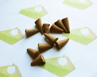 Key Lime Pie Scented Cone Incense - Incense Cones - Aromatherapy - Aroma - Essense - Home Decor - Gift for Adults