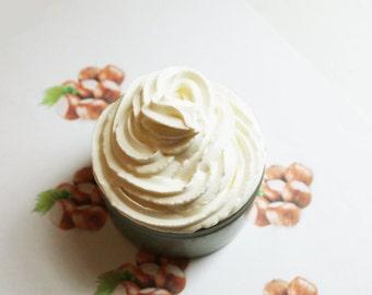 Hazelnut Whipped Soap - Scented Soap - Homemade Soap - Vegan Soap - Glycerin Soap - Cream Soap