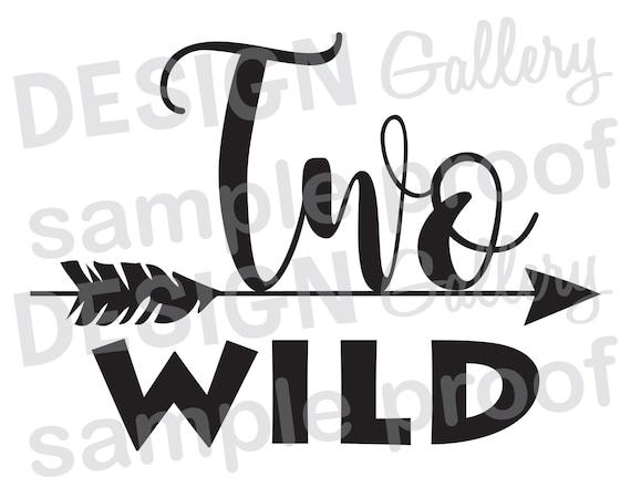Two Wild Arrow Instant Download Diy Jpg Image Amp Svg Cut