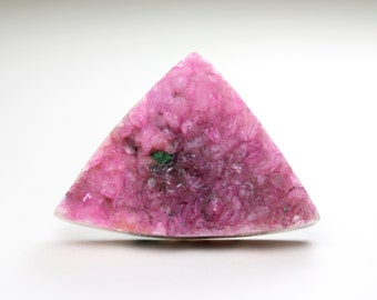 Stunning Triangle Druzy Cobalto ,Cobaltoan Calcite Designer Cabochon, Ideal for Jewelry Design