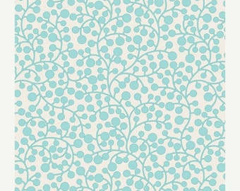 ON SALE - MOD Vines in Aqua (Mo-4809) - Modernology by Patricia Bravo - Art Gallery Fabric - By the Yard