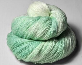 Mr Freeze OOAK - Merino/Silk/Cashmere Fine Lace Yarn