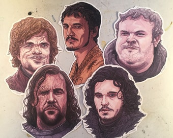 Game Of Thrones Sticker Set