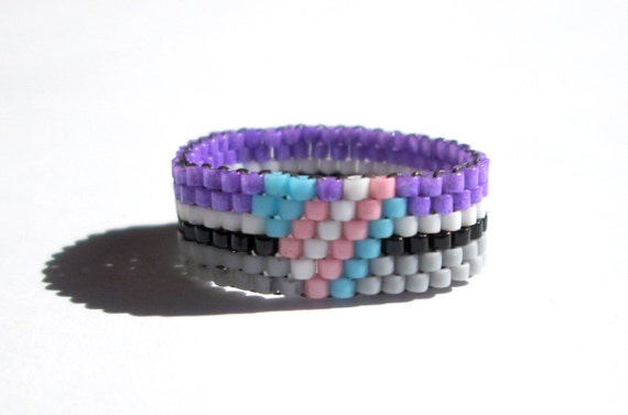 asexual transgender pride ring personalized pride jewelry