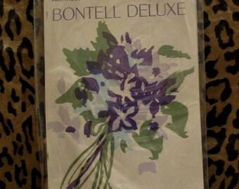 Bisque BONWIT TELLER Vintage Pantyhose Ultra Sheer Control Top sz B