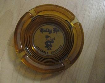 Tally Ho Ashtray - Vintage 1960's Mid Century Lakewood Colorado USA Restaurant