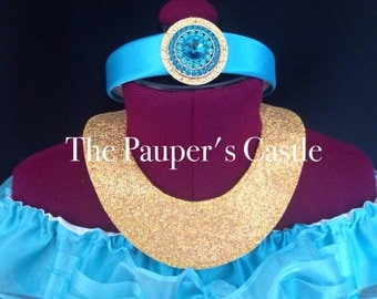 Disney Princess Jasmine Headband and Necklace Costume Accessories