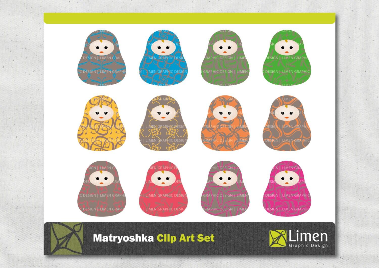 russian doll clip art matryoshka clip art nesting doll clipart