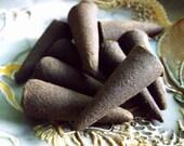 Vanilla Cone Incense - altar incense, ritual incense, Wiccan, witchcraft supply, incense cone