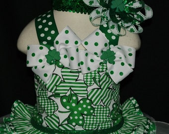 St.Patrick's Day Pageant Wear OOC 4 piece Set Ready To Ship!!!
