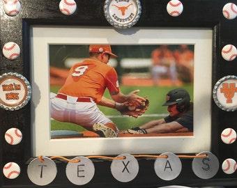 5X7 Texas Baseball Frame