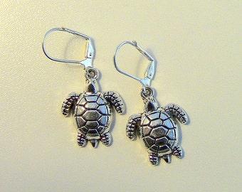 Turtle Earrings, Turtles