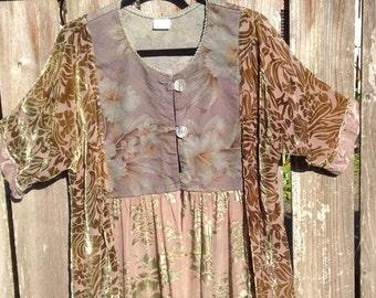 Golden Rose Bark Cloth Jacket