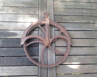 Vintage Water Well Pulley