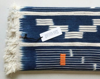 Vintage African Baoule Textile - Boho Baule Throw - Summer Blanket - Boho Nursery Décor