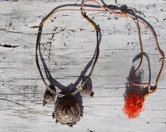 Yemeni Silver Tribal Necklace
