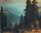 At the Foot of Mount Rainier Calendar Art Print