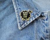 Black Sheep Club Hard Enamel Pin Gold Metal Lapel Pin Flair Gifts under 10