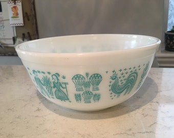 Pyrex Butterprint 403 Mixing Bowl