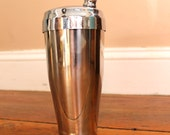 Cocktail Party... Vintage Stainless Steel Cocktail Shaker