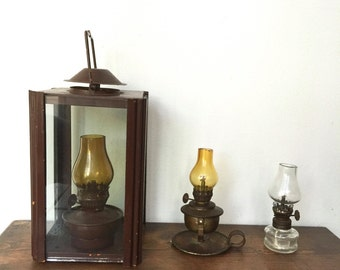 Vintage Lanterns Set of Three. Ready to Ship