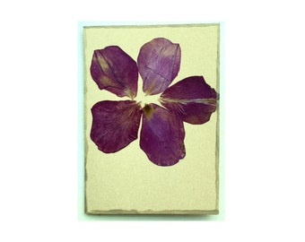 Rose petal Collage Card - Blank 4.5x6.25 (RP45-002)
