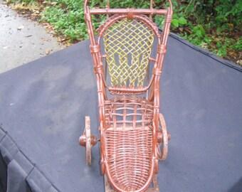 Doll Rickshaw Type 3 wheel Buggy