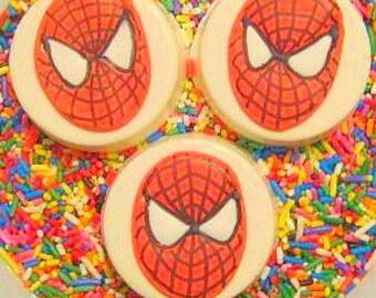 Super Hero chocolate covered oreo