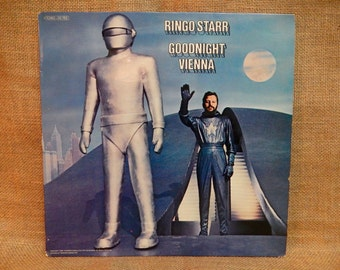 Ringo Starr - Goodnight Vienna - 1974 Vintage Vinyl Record Album...German Pressing