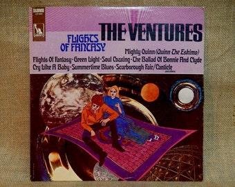 THE VENTURES - Flights of Fantasy - 1968 Vintage Vinyl Record Album