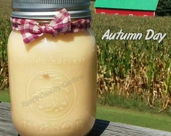 Autumn Day Soy Candle in 16 oz Jar