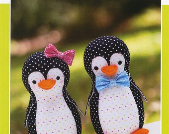 Piper & Pete Stuffed Penguin Pattern By Melly And Me