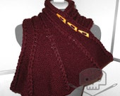 Knit Dragon Wing Scarf/Cowl - Washable - One Size