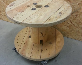 Cable Spool Table - FREE Shipping