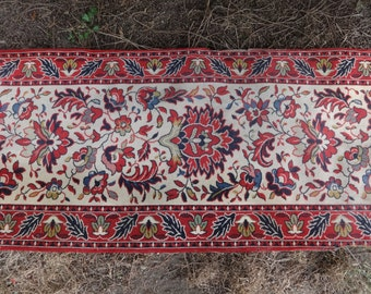 Vintage English Hallway Landing Carpet Floor Mat Rug circa 1950-60's / English Shop