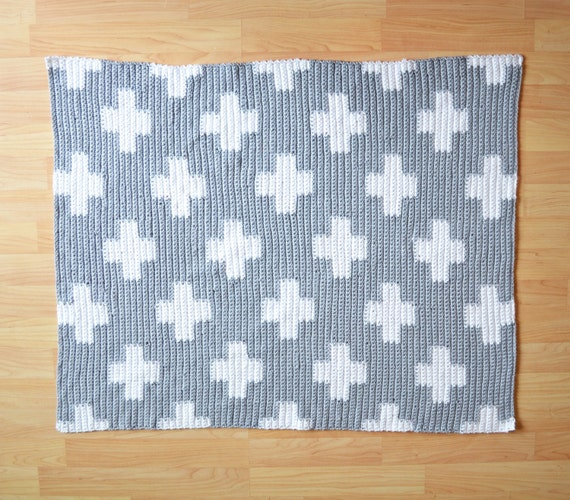 Crochet Plus Blanket Pattern