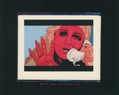WILD AT HEART - Diane Ladd - David Lynch Card - David Lynch - Greeting Card - Marietta Fortune - Wild At Heart Card - Nic Cage - Laura Dern