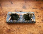 Vintage Women's Shuron Bifocal Sunglasses - Fifties Cat Eye Style in Original Case
