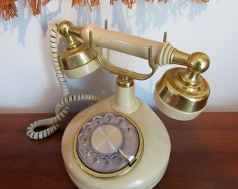 Vintage Western Electric French Style Rotary Telephone