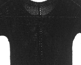 Michael Glover Knits House Of Rex Rexknits Black Knit Dress Australian Designer