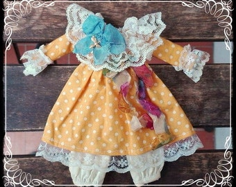 Vintage CLOWN DRESS for Blythe by Antique Shop Dolls