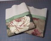 Vintage Handmade Pillowcases - Reversible - Set of 2