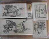 Stampin Up - Stamp Set - Garden Angel - Set 69