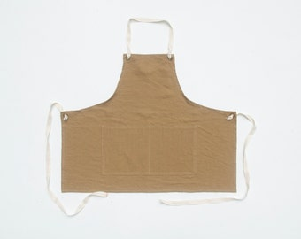 Apron No. 1 in Brown