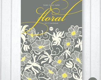 2017 Floral Wall Calendar (Monthly by Birth Flower)