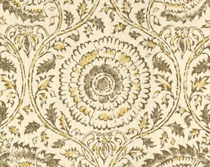 Designer Pillow Cover - Lumbar, 16 x 16, 18 x 18, 20 x 20, 22 x 22, Euro - Kravet Kamala Stone