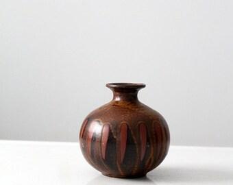 SALE mid century modern vase, 60s bud vase