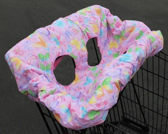 Baby Girl Shopping Cart Cover #23G-1081