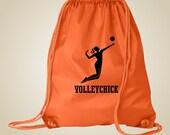 Volleyball Cinch Sport Bag - free customization