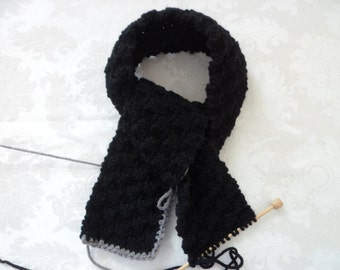 RESERVED FOR NANCY Hand Knit Scarves